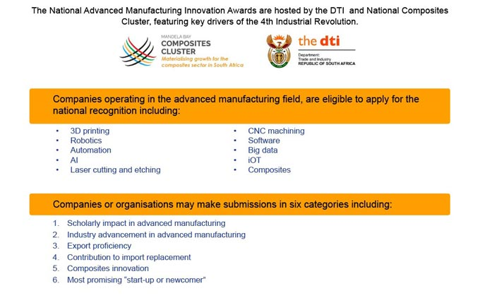 African Advanced Manufacturing and Composites Show - Final Reminder, Enter Now