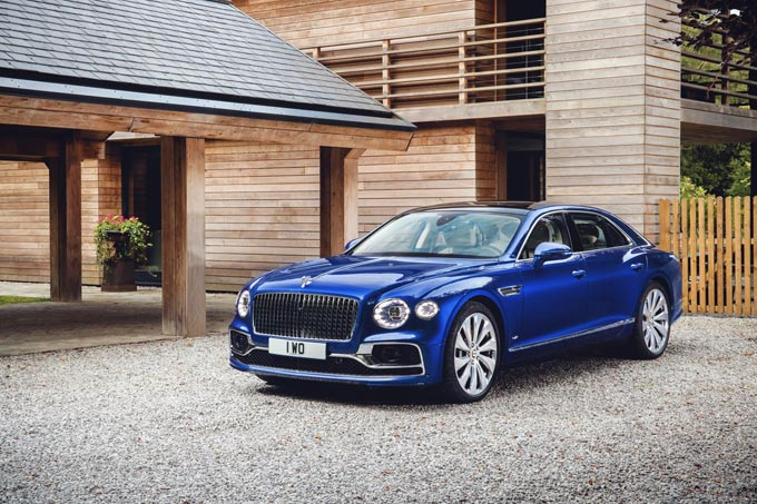 Bentley reveals exclusive Flying Spur first edition at the Elton John aids foundation gala