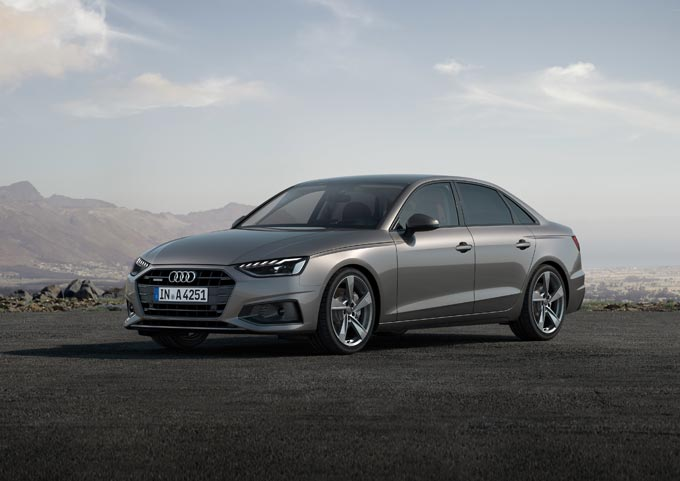 The new Audi A4 even tauter and sportier with a significant facelift