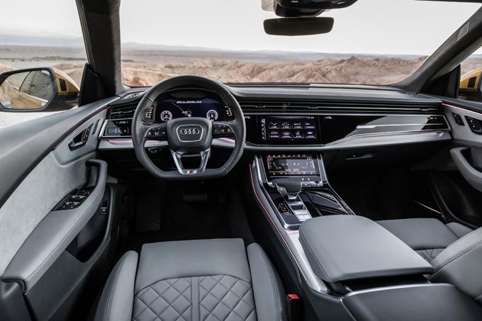 Inside the All-new Audi Q8: bringing technology to life