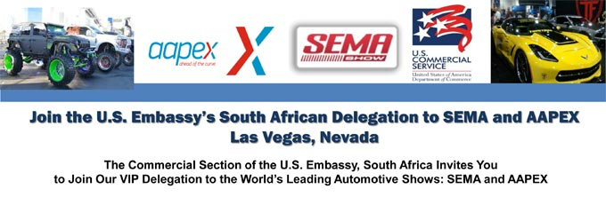 Join the U.S. Embassy Delegation to SEMA and AAPEX 2019