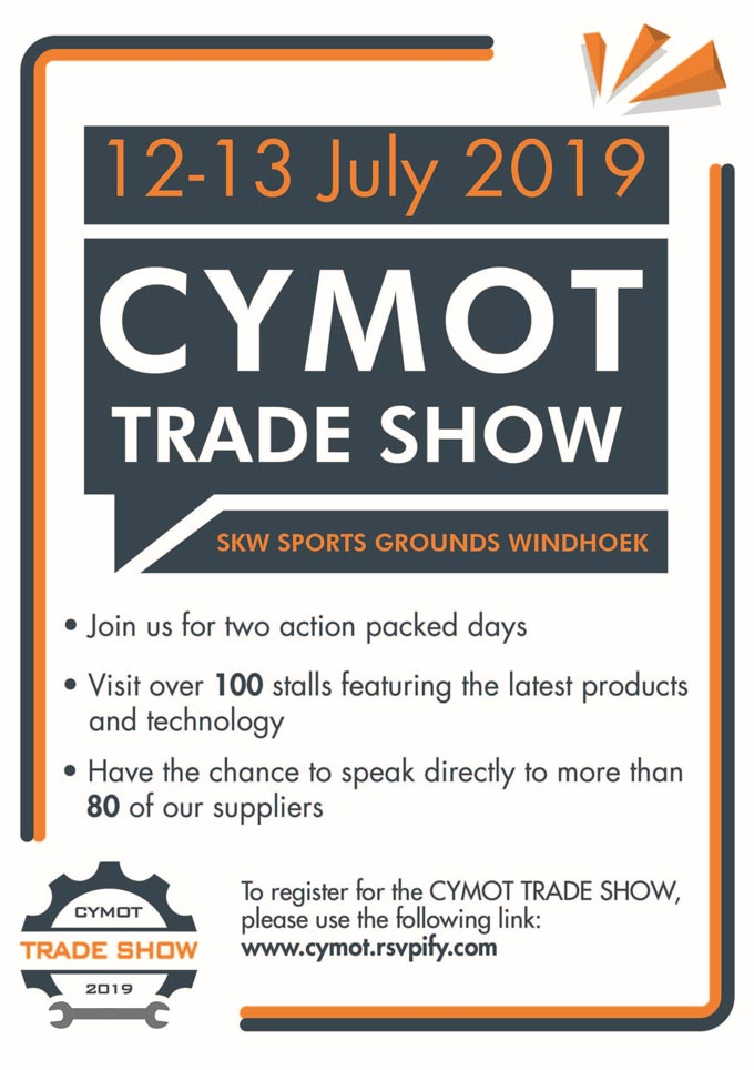 This is not something you would want to miss – The CYMOT TRADE SHOW 2019