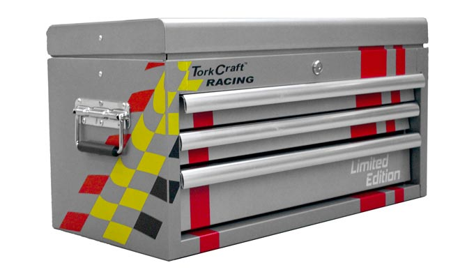 Tork Craft introduce their Limited-Edition Racing Tool Cabinets, Trollies and Top boxes