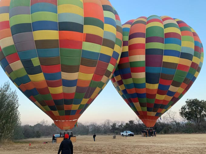 CDK Global launches its Partner Programme at the South African Hot Air Balloon Championships