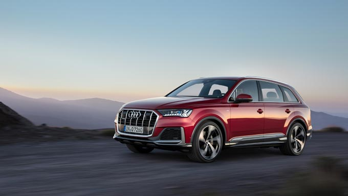 New edition of the Audi Q7