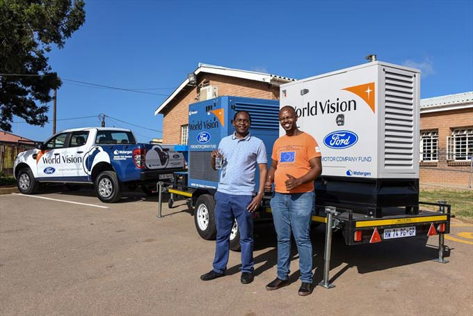 Ford and World Vision Introduce Innovative Water Generating Project for Drought-Stricken Communities
