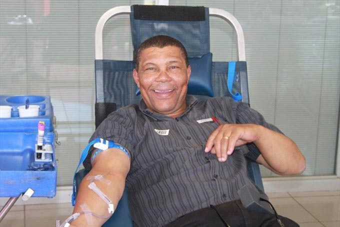 Steven Brecht, Parts Sales Executive of Jacksons Isuzu Queenstown regularly donates blood to save lives. Each time a person donates three times in succession, the blood bank is able to use three parts of their blood - this could save three lives.