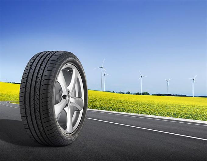 Goodyear EfficientGrip Performance - the high performance, fuel saving tyre now produced in South Africa