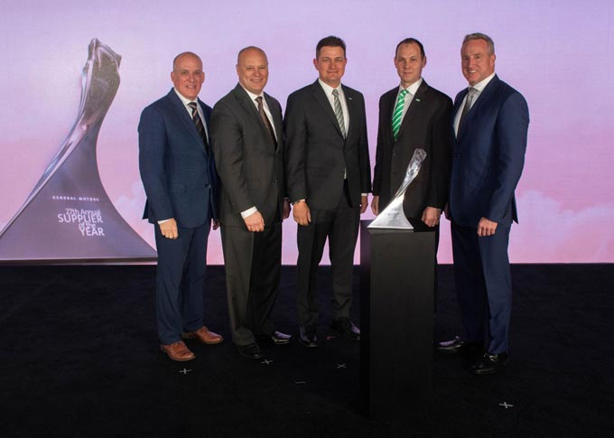 MANN+HUMMEL Recognized by General Motors as a 2018 Supplier of the Year
