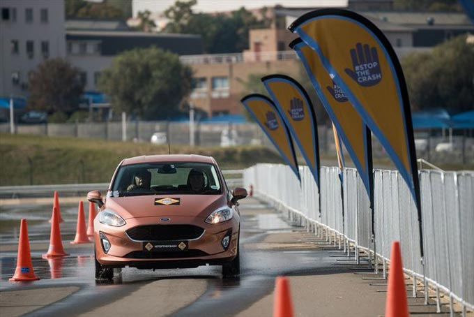 Ford Fiesta Demonstrates the importance of ESC at Global NCAP Stop the Crash Event