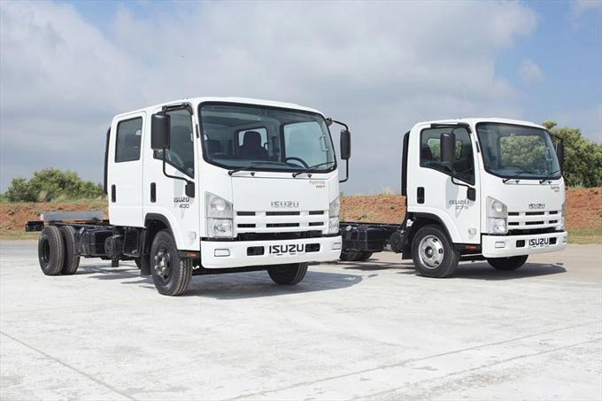Isuzu continues to improve South Africa's best-selling Truck Range
