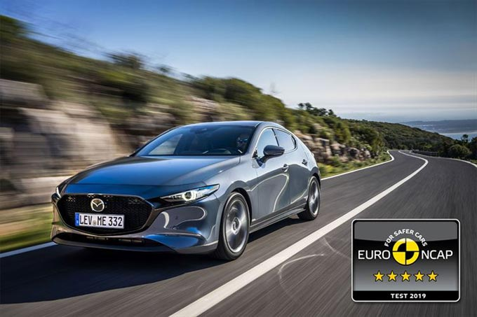 The SA Bound Next-Generation 2019 Mazda3 Achieves 5 Star Euro NCAP Rating