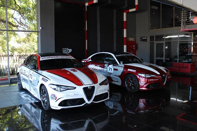 Alfa Romeo in the hunt to become king of the Simola Hill(climb)