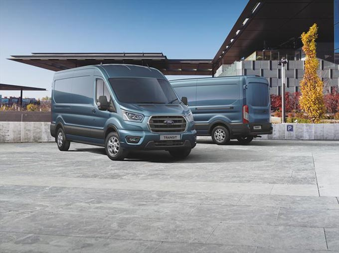 Bold New Styling for Ford's Load-Hauling Transit Van and Chassis Cab