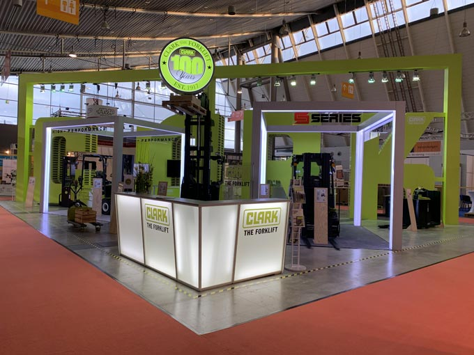 Clark at the LogiMAT 2020