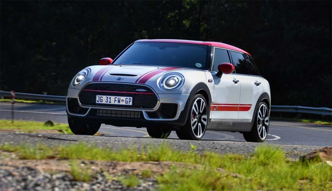 The new MINI John Cooper Works Clubman and the new MINI John Cooper Works Countryman now in South Africa.