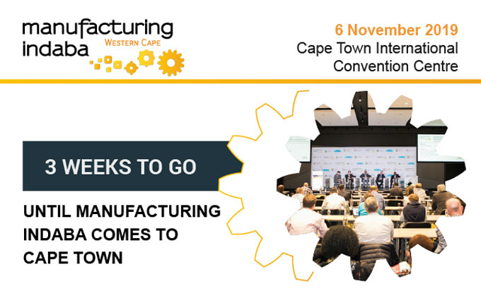 3 Weeks to Go: Manufacturing Indaba comes to Cape Town