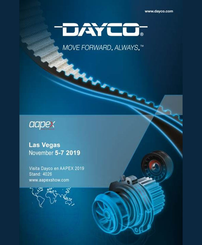 Dayco at AAPEX 2019