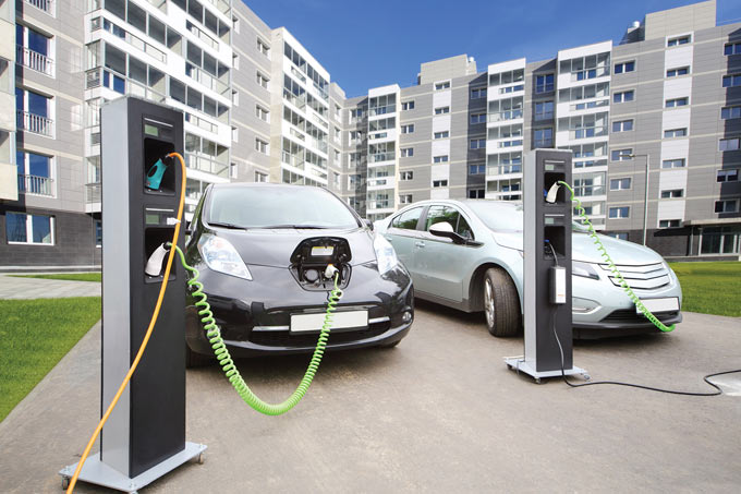 Electric vehicles in Transport Month