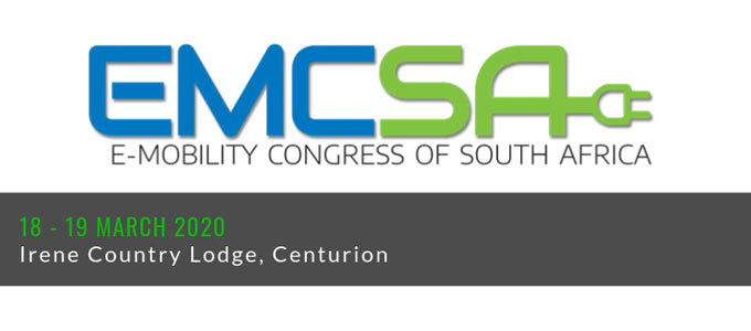 Event launch of the E-Mobility Congress in South Africa