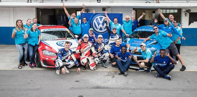 Volkswagen Motorsport secures GTC2 Manufacturers title, on brink of Global Touring Car series glory