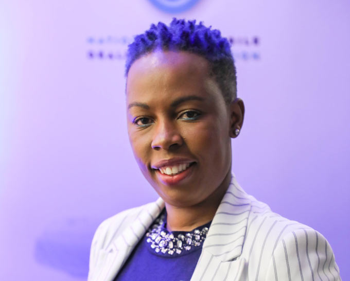InspectaCar's Pertunia Sibanyoni, finalist for the Positive Role Model Award, C-Suite, at Gender Mainstreaming Awards 2019