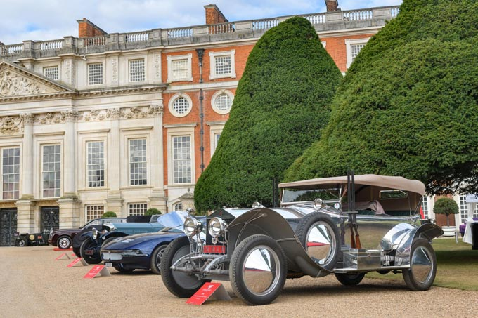 1919 Rolls-Royce Silver Ghost crowned best in show at Concours of Elegance 2019