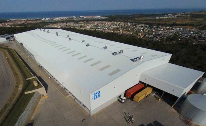 ZF starts production in East London, South Africa