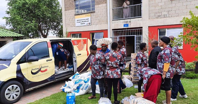 Lift-off at Mbazwana in KZN as Trucking Industry Collaborates to Deliver Food to the Hungry