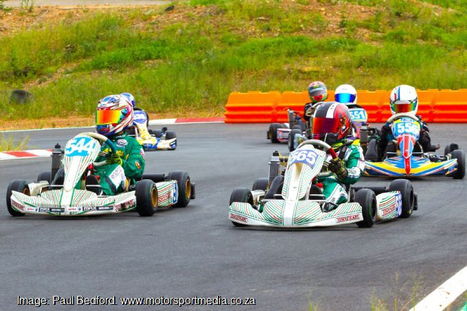 Gauteng Rotax karters finally back on track