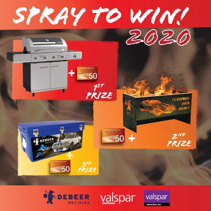 Spray To Win 2020 With DeBeer And Valspar