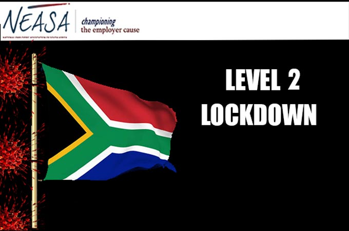 Covid-19 lockdown: alert level 2