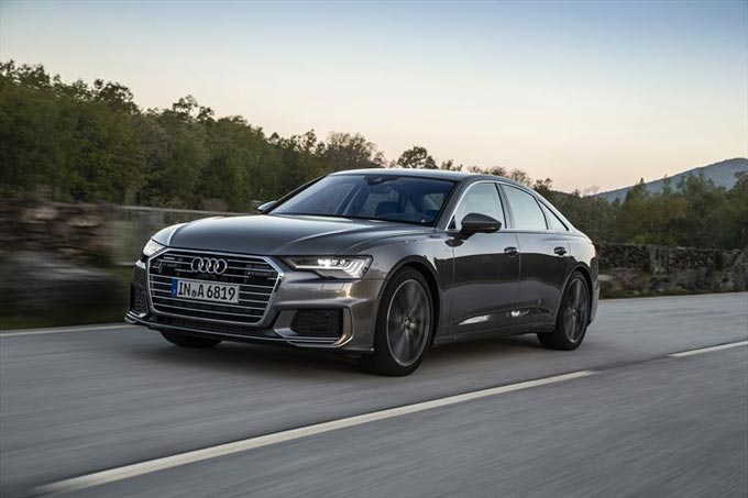 Upgrade in the business class: The new Audi A6 and S6 Sedan