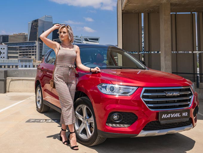 The all new Haval H2