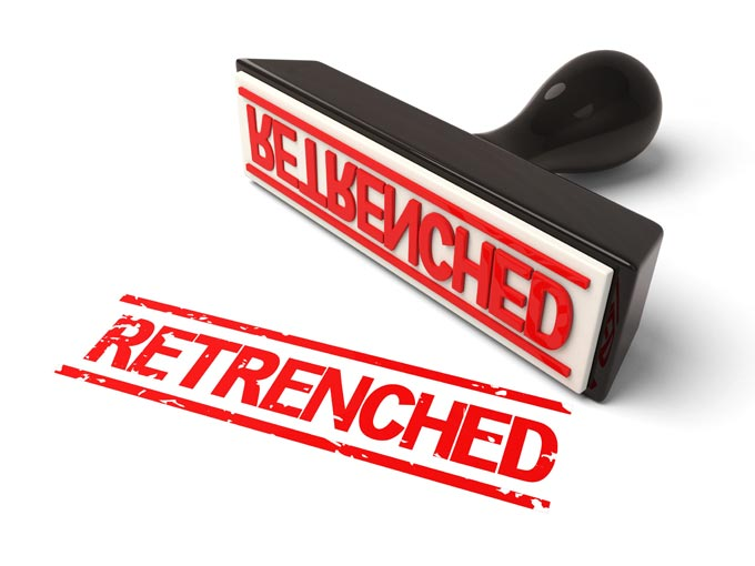 Coping with retrenchment: