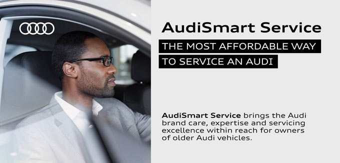 Infographic | AudiSmart Service - The most affordable way to service an Audi