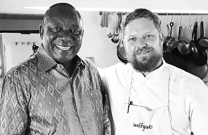 Award-winning Wolfgat chef begs Ramaphosa to allow wine sales, to save jobs and lives