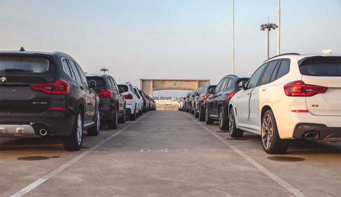 First shipment of 2000 BMW X3s exported