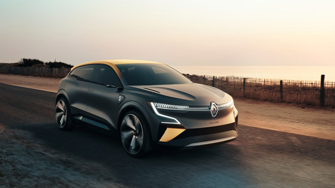 MÉGANE eVISION – the future of the electric car