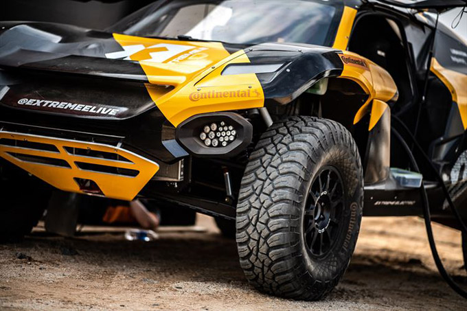 Continental a Founding Partner and Exclusive Tyre Supplier to the New Extreme E Series