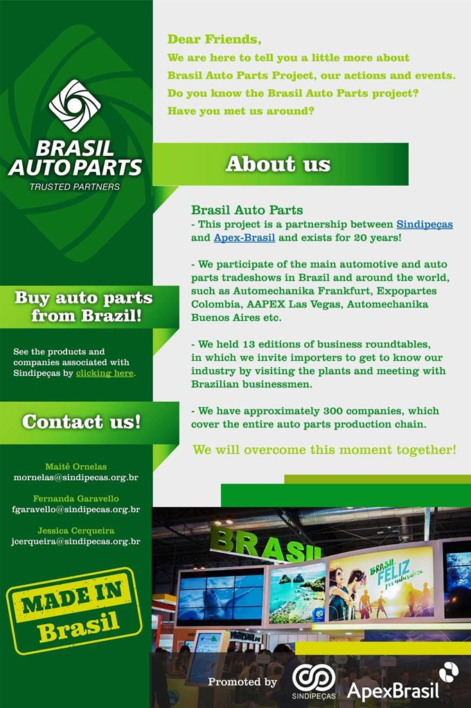 Brasil Auto Parts invites you to know the automotive industry in Brazil