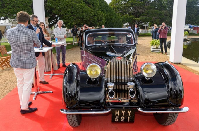 Bridge of Weir Leather celebrates outstanding automotive design at Concours of Elegance 2020