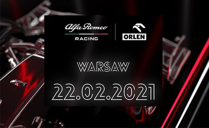Join us for the launch: Alfa Romeo Racing ORLEN C41