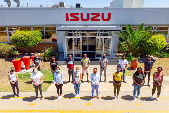 Isuzu Motors South Africa continues to support YES programme