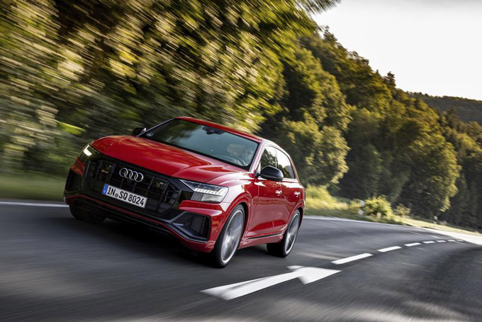 Audi's most powerful diesel engine: Introducing the Audi SQ7 and SQ8