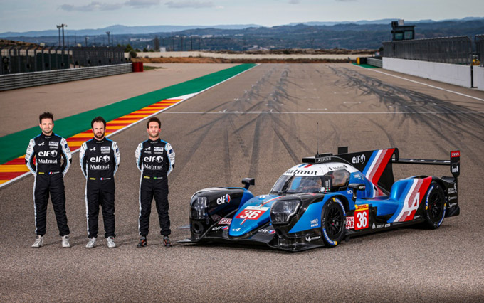 Alpine ELF Matmut Endurance team ready for the 2021 FIA WEC Championship season