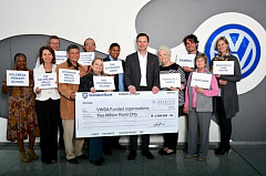 Volkswagen donates R2 million to local charities