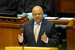 Gordhan's steel cable