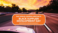 DAC AGM & Black Supplier Development Day. 8 May 2018. Important information and updated agenda