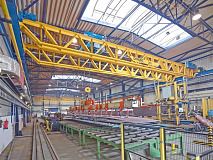 Demag's new Double V-Girder quadruples lifting capacity